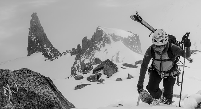 The Transition from climber or mountaineer to skier, Alison Culshaw explains